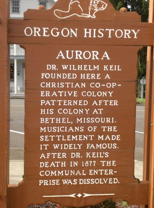 Aurora Oregon