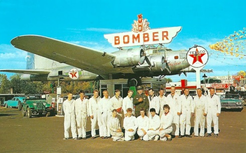 The Bomber was a local restaurant